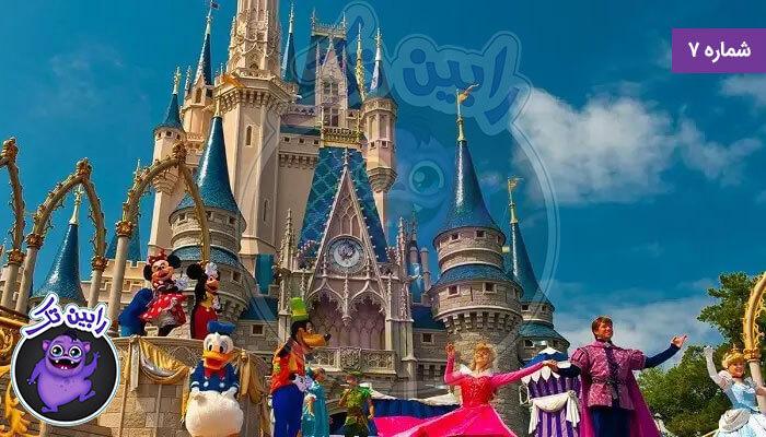 پادشاهی جادویی والت دیزنی جهان فلوریدا اختصاص داده شده به خالق
